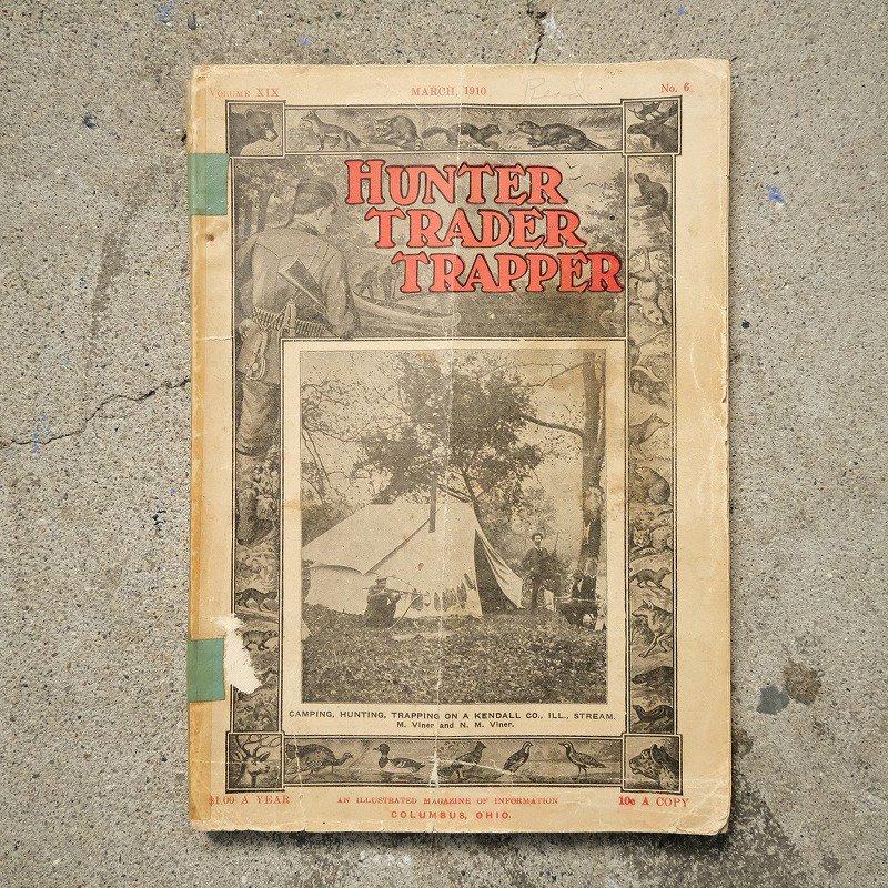 HUNTER TRADER TRAPPER BOOK