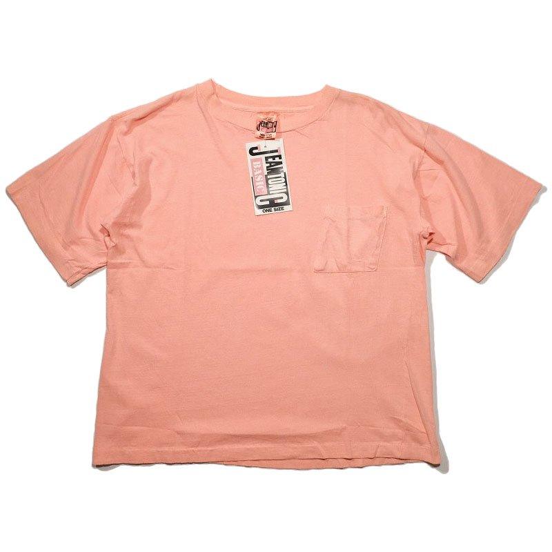 NEON PINK POCKET T-SHIRT