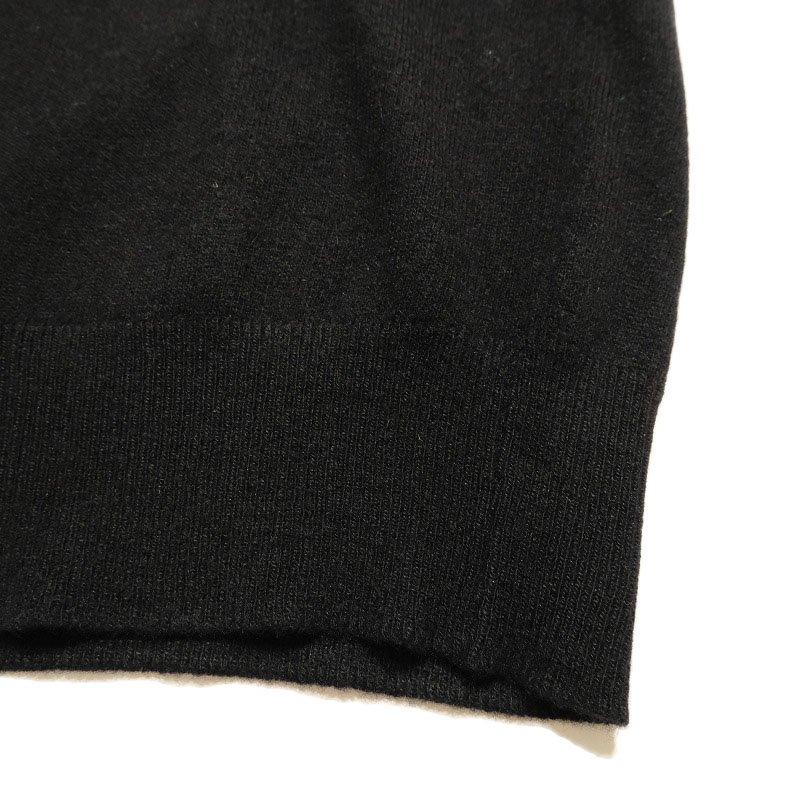 Vintage Black Cashmere Vest