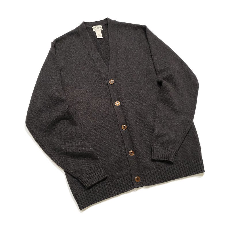 L.L.BEAN Cotton Knit Cardigan