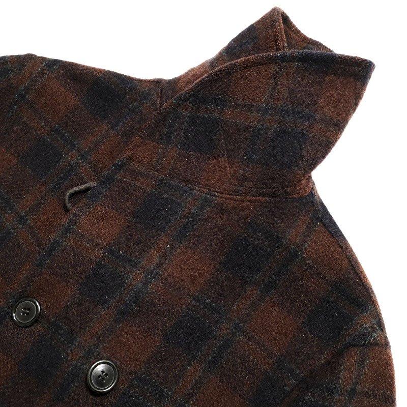 Double Breasted Mackinaw Coat
