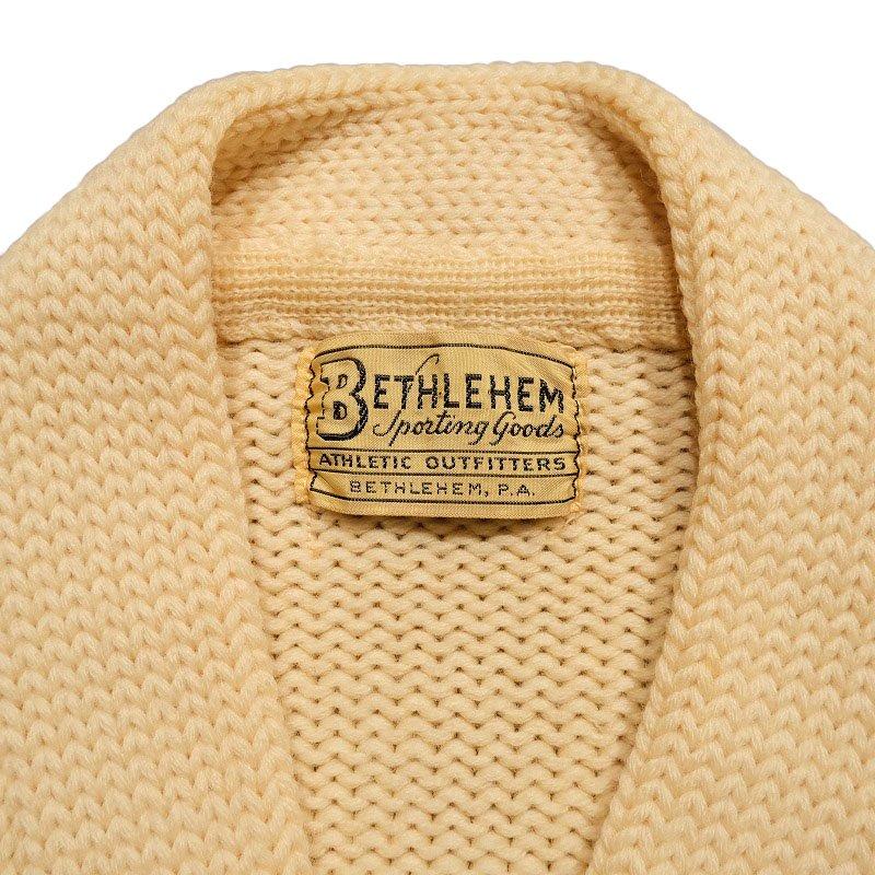 BETHLEHEM Lettered Cardigan