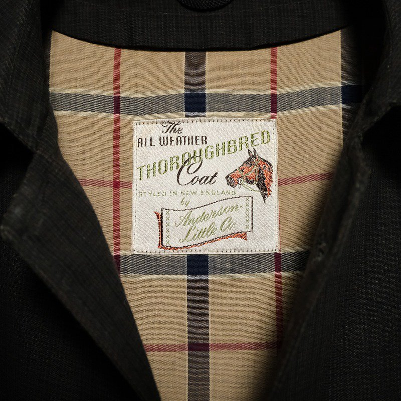 Anderson Little Co. The ALL WEATHER COAT