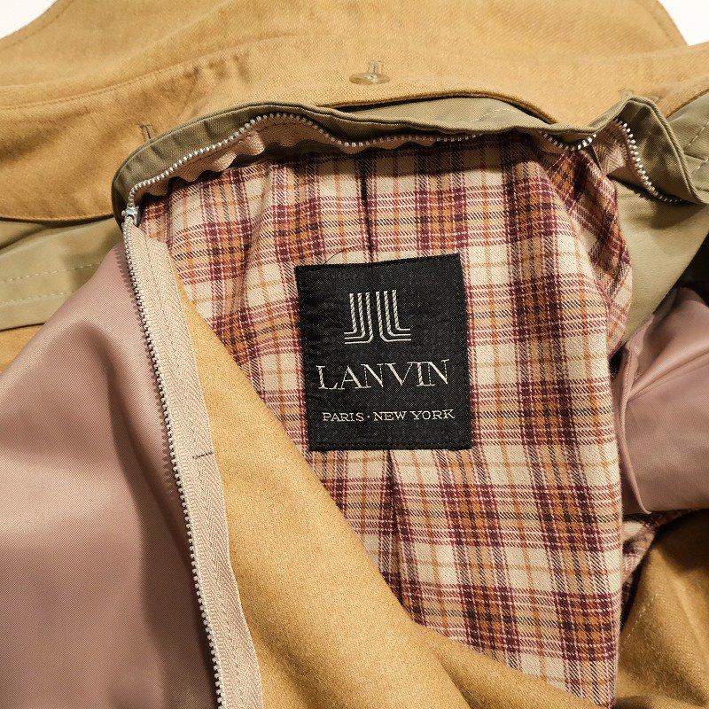 OLD LANVIN TRENCH COAT
