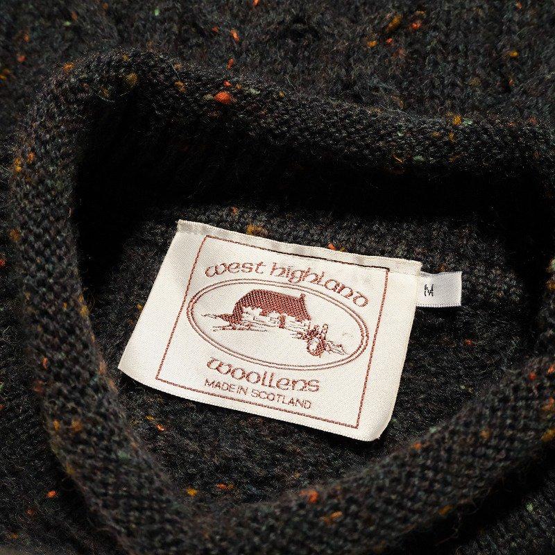 Bottle Neck Fisherman Sweater