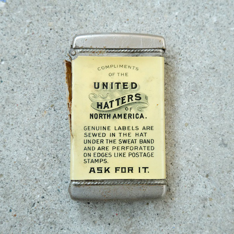 THE UNITED HATTERS Match Case