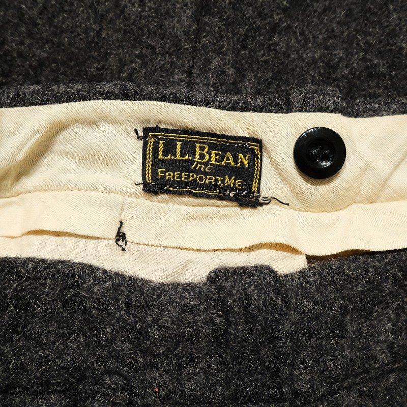 "L.L.BEAN ""PLAIN GRAY"" HUNTING PANTS"