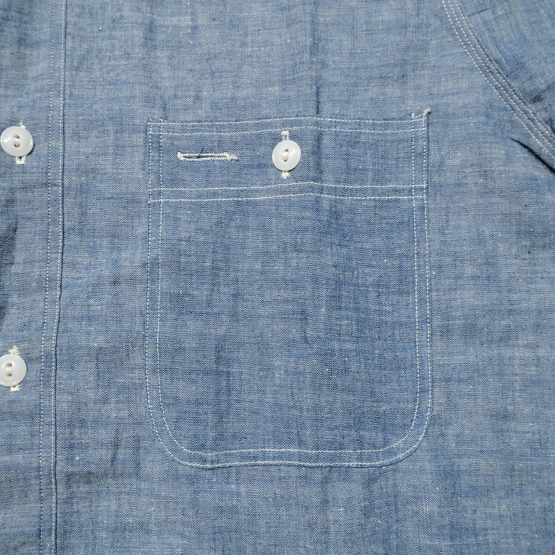 BROADCASTER CHAMBRAY SHIRT