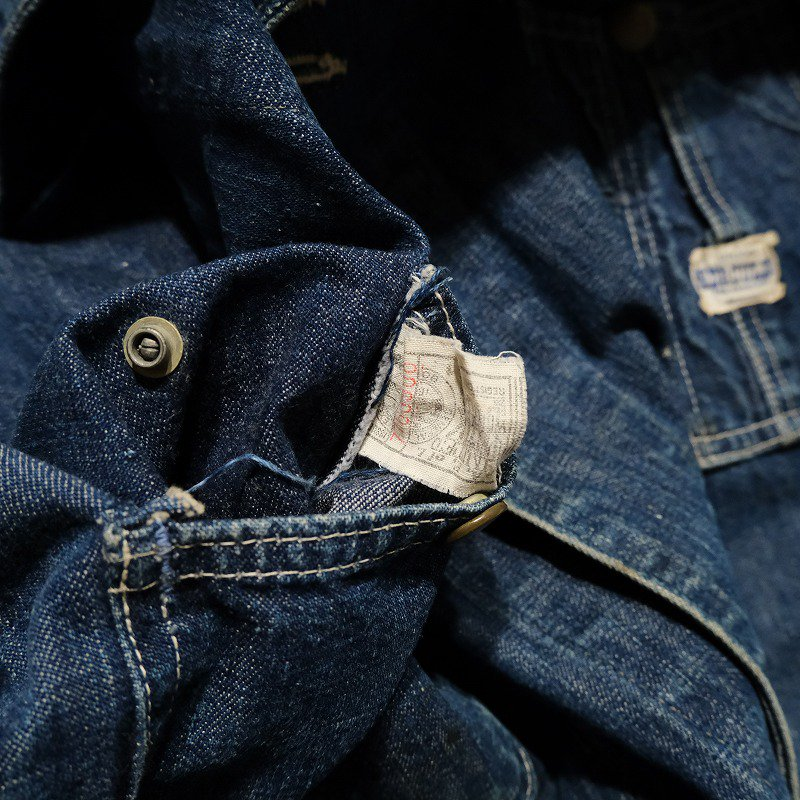 HERCULES DENIM COVERALL