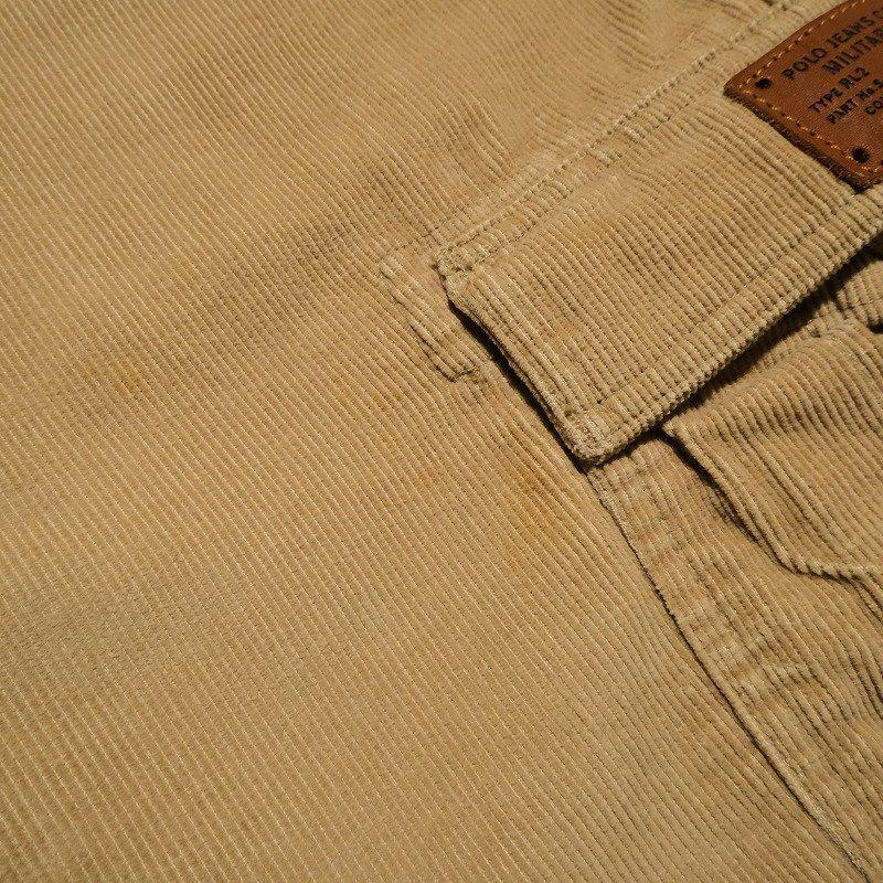 POLO JEANS CO. Corduroy Cargo Pants