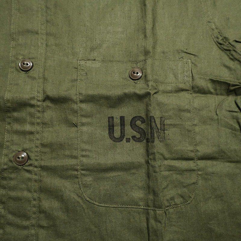 WW2 U.S.NAVY COTTON POPLIN SHIRT