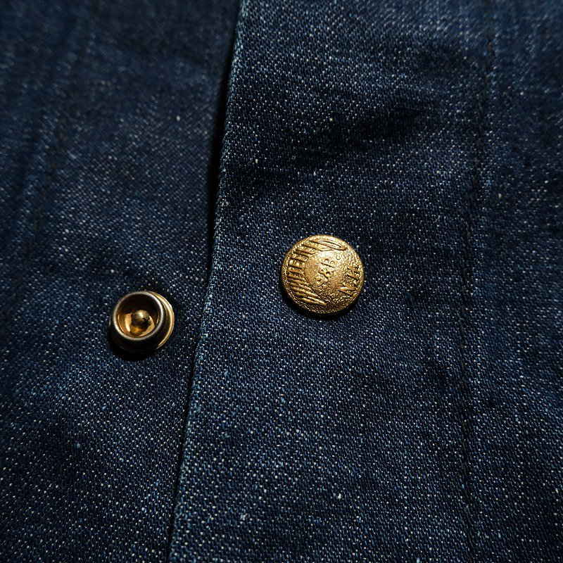 WHITEFIELD DENIM COVERALL