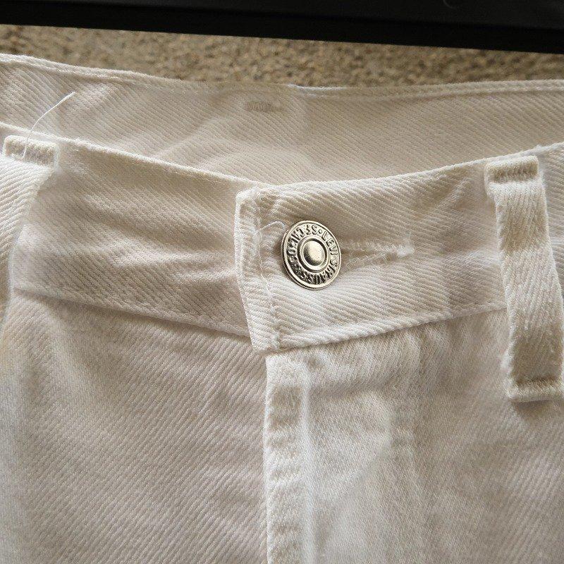 LEVI'S 501 WHITE DENIM PANTS
