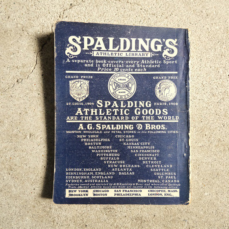 SPALDING'S ATHLETIC LIBRARY