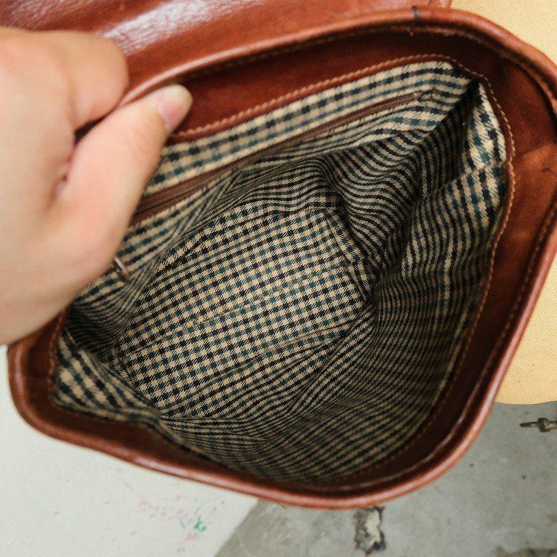 OLD GHURKA LEATHER SHOULDER BAG No.166