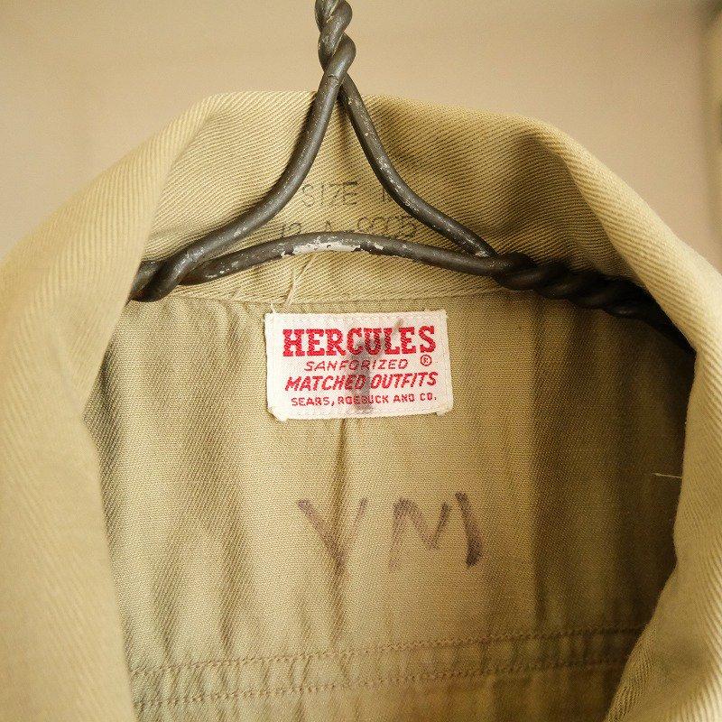 HERCULES CHINO WORK SHIRT