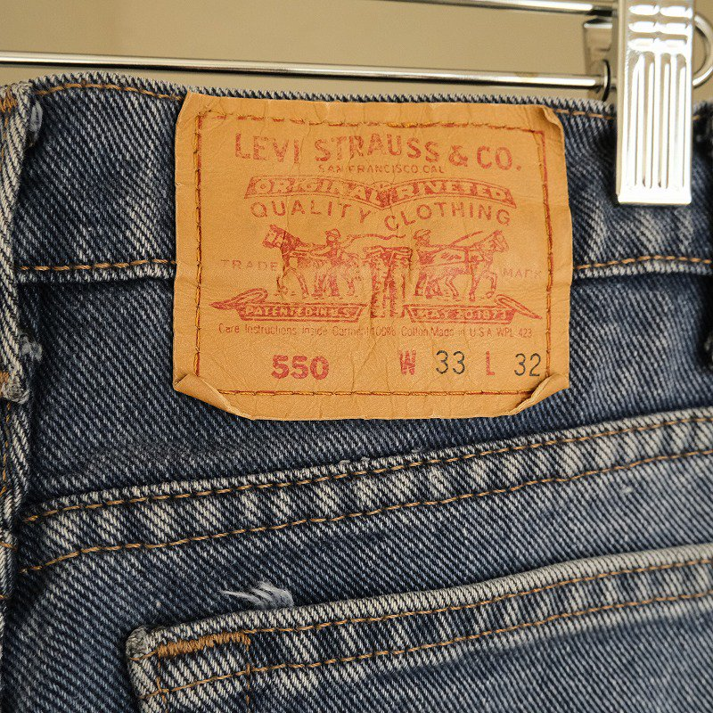 LEVI'S 550 DENIM PANTS