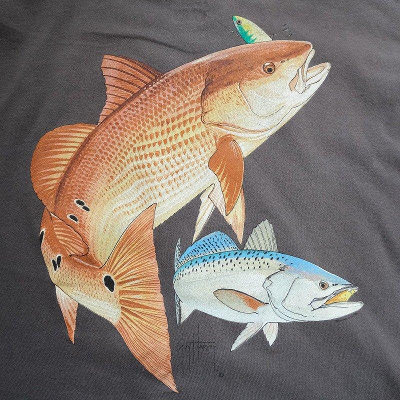 GUY HARVEY FISH L/S T-SHIRT