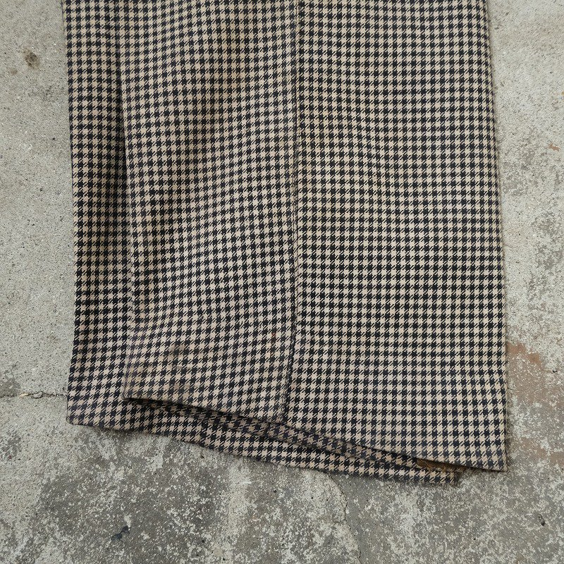 ANTIQUE WOOL TROUSERS
