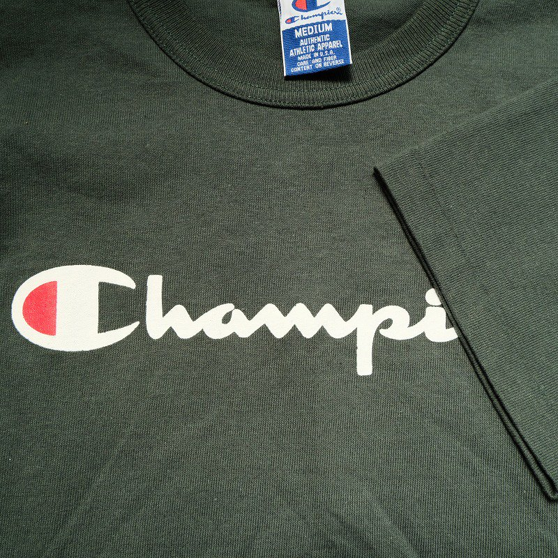 CHAMPION T-SHIRT (GREEN)