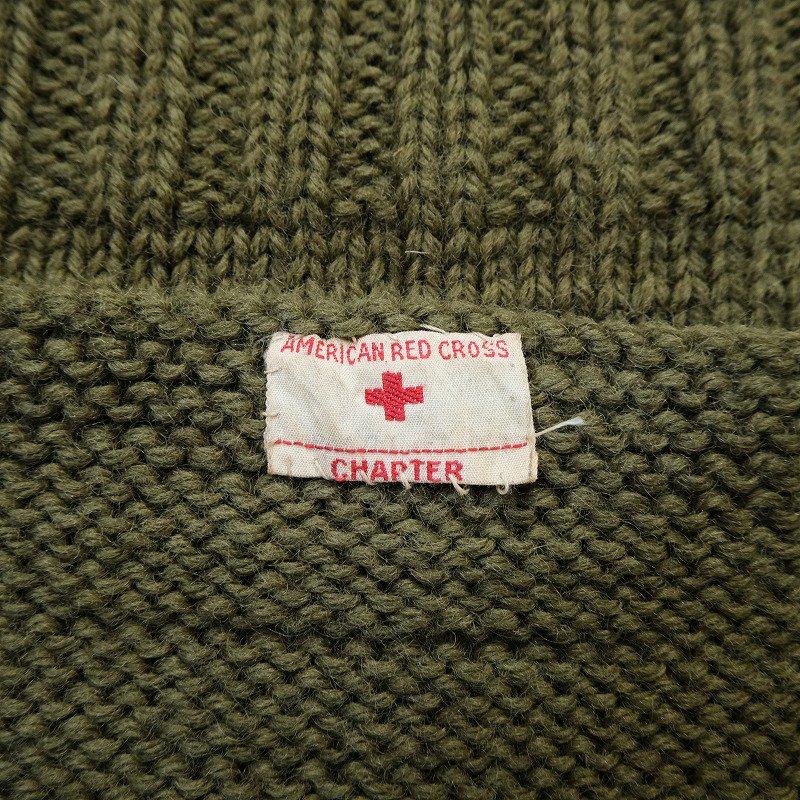 WW2 AMERICAN RED CROSS KNIT VEST