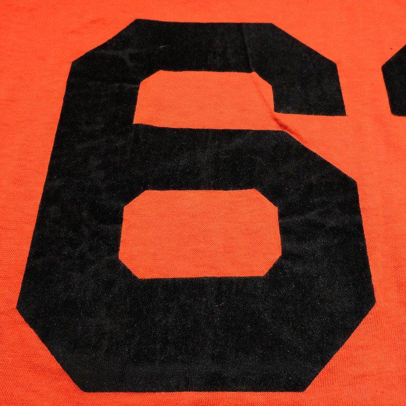 CHAMPION NUMBER T-SHIRT(PRINCETON・63)