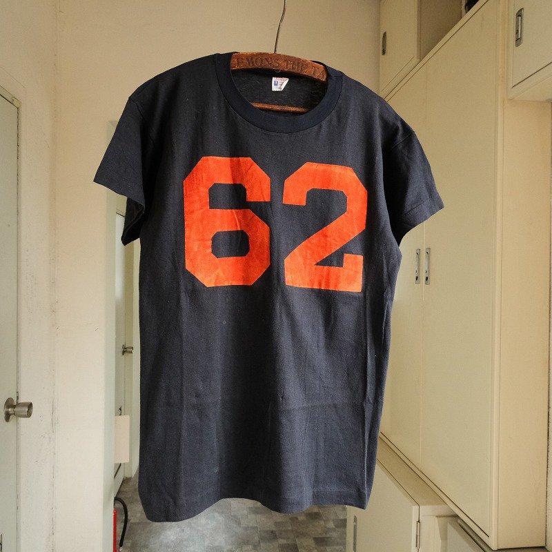 CHAMPION NUMBER T-SHIRT(PRINCETON・62)