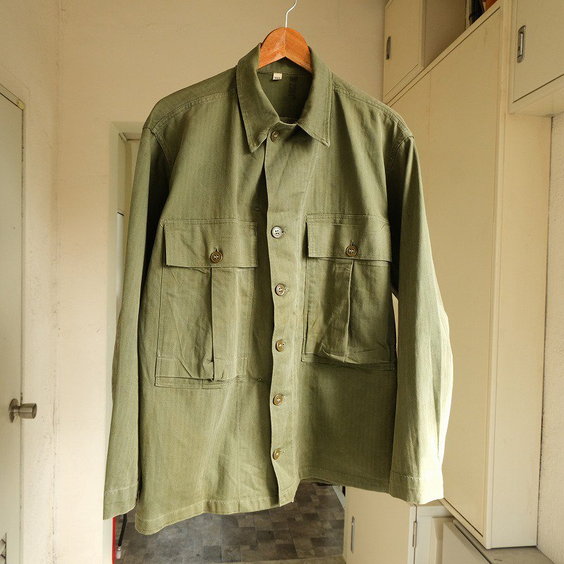 WW2 U.S.ARMY M-1943 O.D. HBT JACKET
