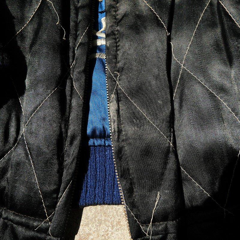 BLACK ONE COLOR SOUVENIR JACKET