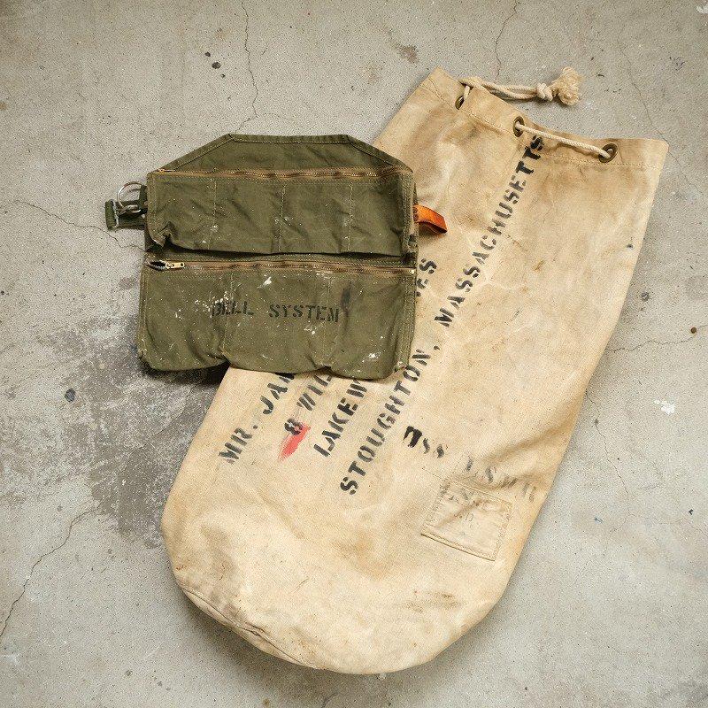 BELL SYSTEM WAIST APRON BAG
