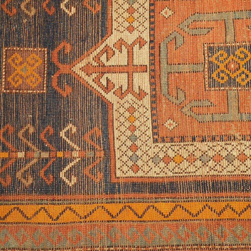 ANTIQUE CAUCASIAN RUG(KAZAK)