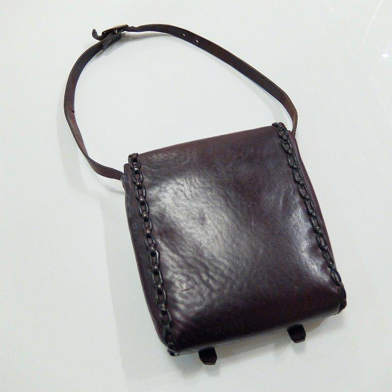 〜1930's Saddle Leather Shoulder Bag