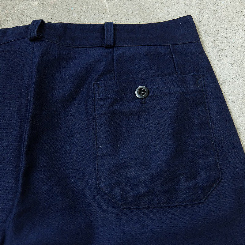 1960's〜 French Blue Moleskin Work Pants