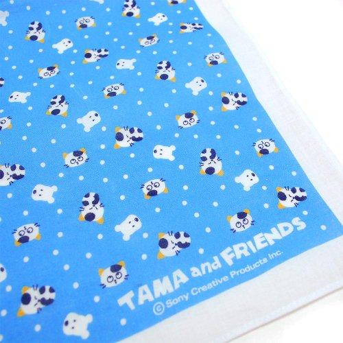 【公式ショップ限定】ハンカチ(みずたま)ブルー  TA