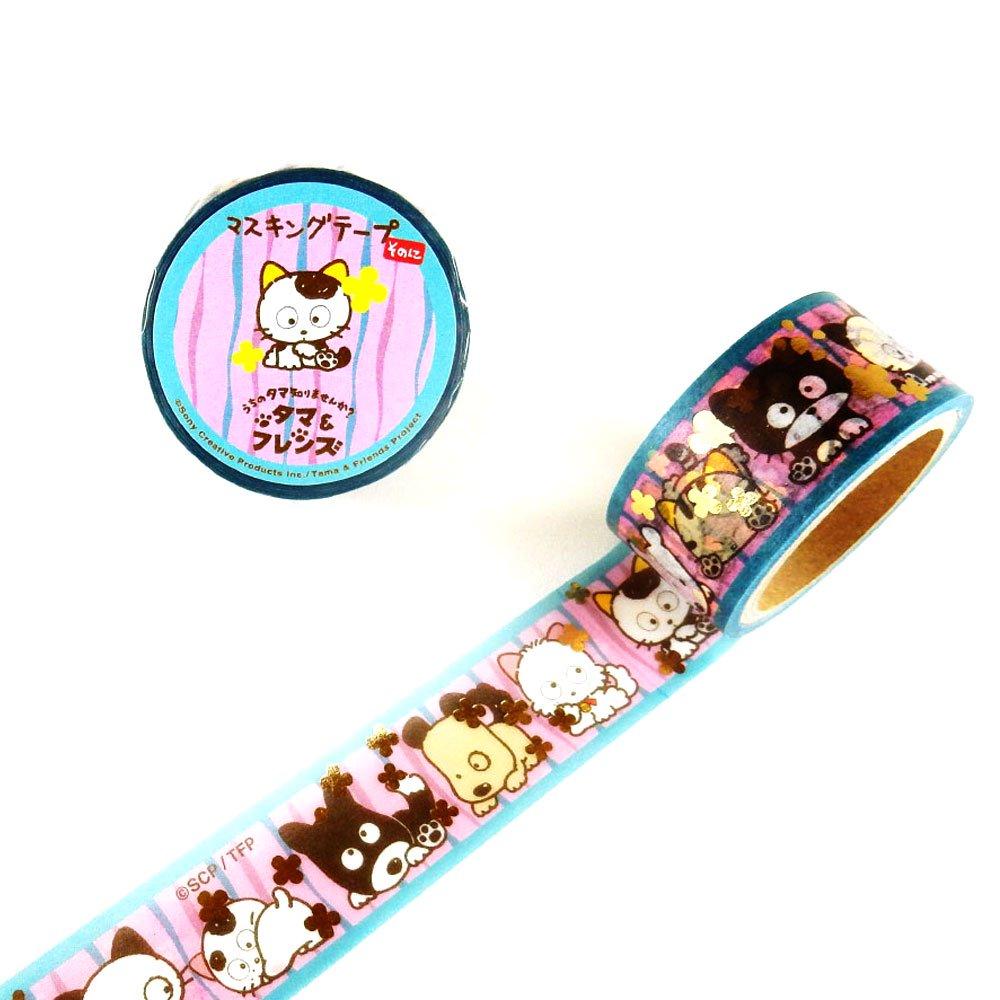 箔押しマスキングテープ(flower) TM-MK-012 TA グッズ