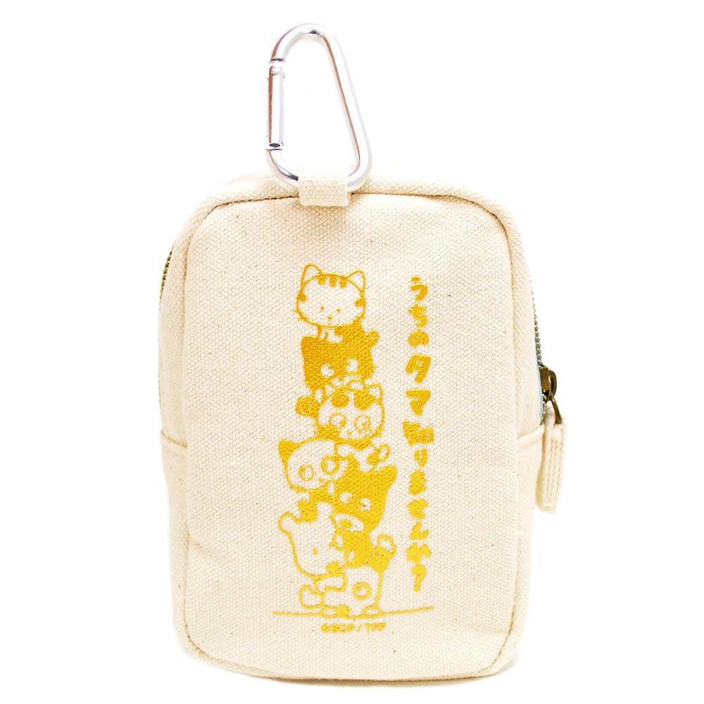 サガラ刺繍バラエティポーチ(タマ&トラ) TF08 TA