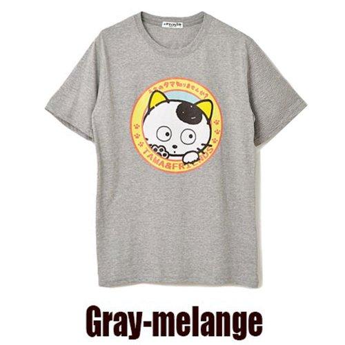 天竺 半袖Tシャツ(杢グレー/M) UT1182-431 TA