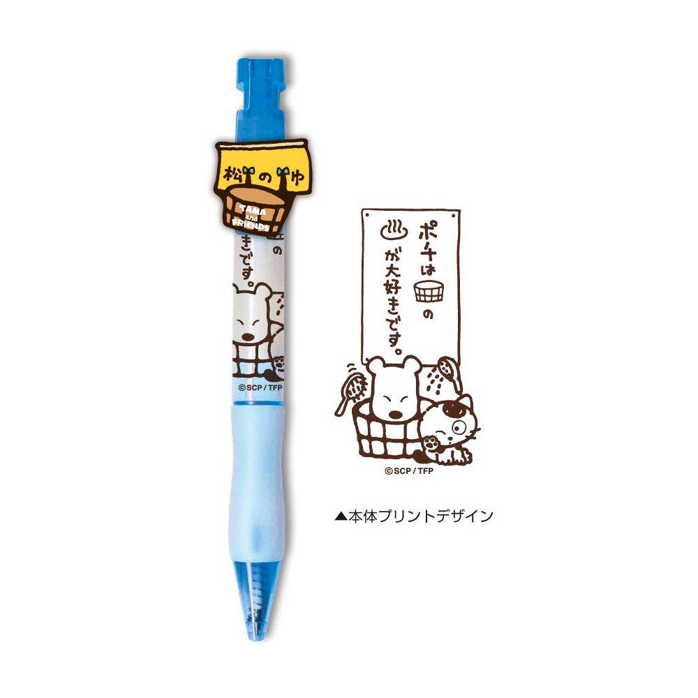 アクリルマスコット付きボールペン(ポチ) TF18 TA