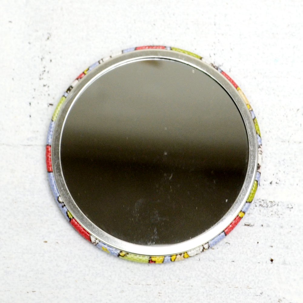 布缶ミラー(りんご) T-09 TA
