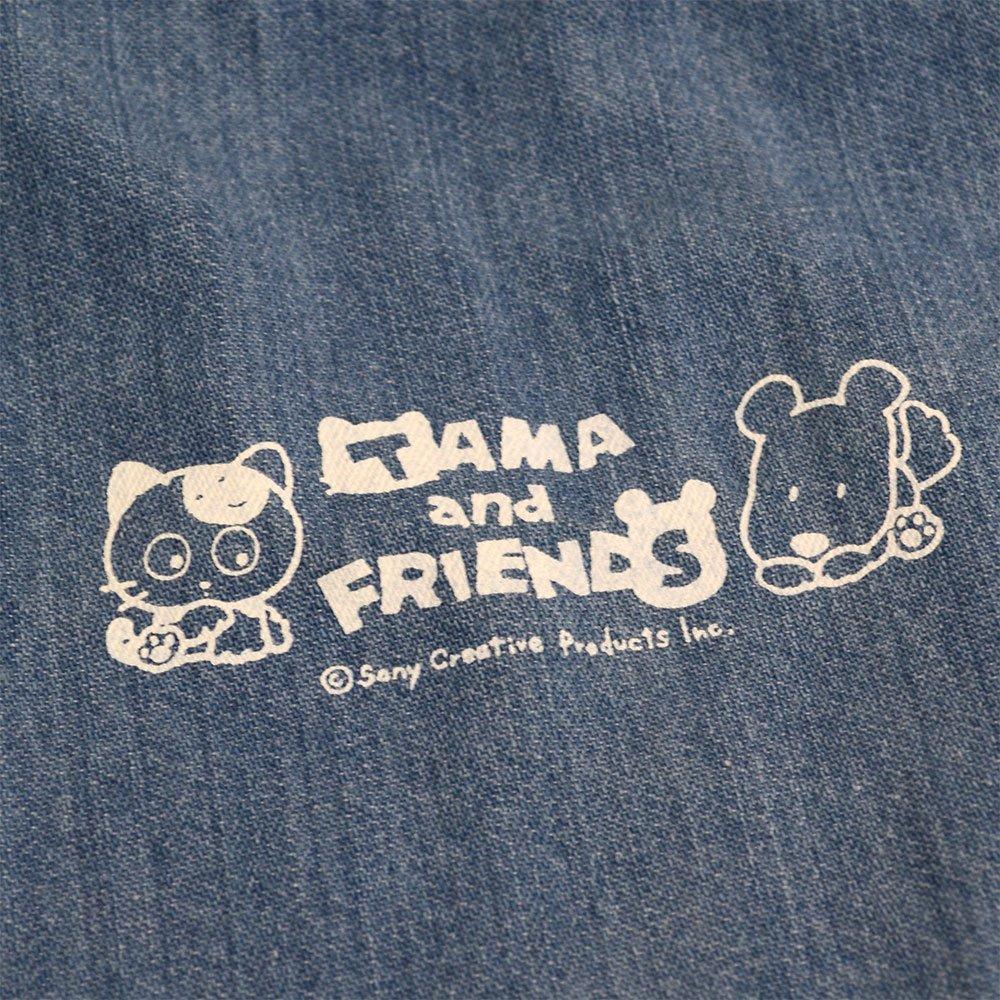 【公式ショップ限定】デニム巾着バッグA(ライトブルー)TA