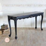 サイドテーブル 幅150cm ブラック 4235-4-8 リプロ B 150*40*10