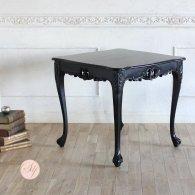 サイドテーブル 幅90cm ブラック 4235-9-8 リプロ B 80*80*10