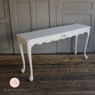 サイドテーブル 幅150cm ホワイト 4235-4-18 リプロ B 150*40*10