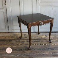 サイドテーブル 幅80cm ブラウン 4235-9-5 リプロ B 80*80*10