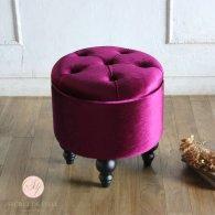 マカロンスツール 一人掛け ヴァイオレットパピヨン aj6f222k リプロ