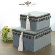 ジェニファーテイラー Velours-NLB BOX2Pセット (ライトブルー) jf-33094bx