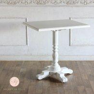 カフェテーブル 角型 ホワイト 4227-FN-18 リプロ B 70*60*70