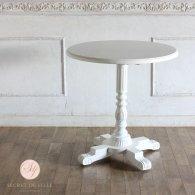 カフェテーブル 丸型 ホワイト 4227-rn-18 リプロ B 65*65*70