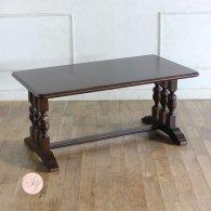ローテーブル ブラウン ブルボーズレッグ  2026-50 リプロ C 110x60x50
