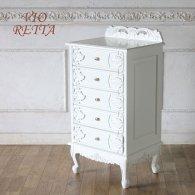 ロマンス家具 VIORETTA ヴィオレッタシリーズ チェスト rch-1754aw